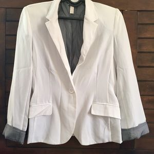 Jackets & Blazers - A white blazer